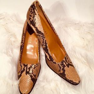 RALPH LAUREN Snake skin shoes * New no box